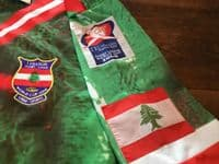 Old Rugby Shirts   2000 Lebanon Vintage League Jerseys